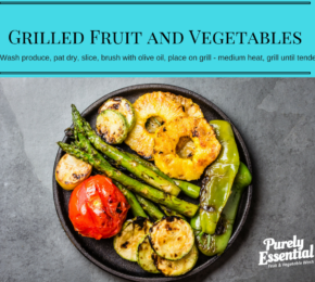 Grilled Fruit and Vegetables