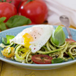 Zoodles and Fried Egg