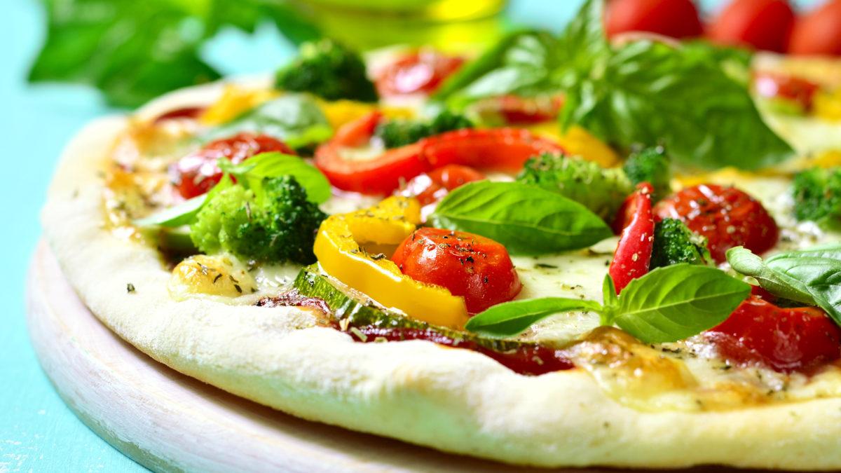 Veggie Pizza with Lemon Ricotta