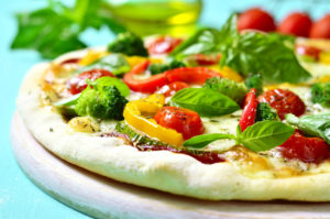 Veggie Pizza with Lemon Ricotta